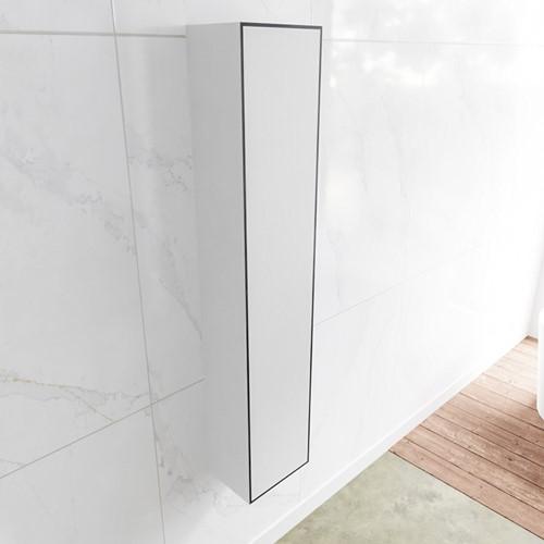 Lagom solid surface kolomkast 150 in kleur urban rechtsdraaiend.