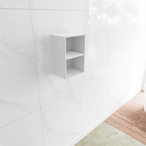 Lagom solid surface nis 45 in kleur talc geschikt voor in of opbouw