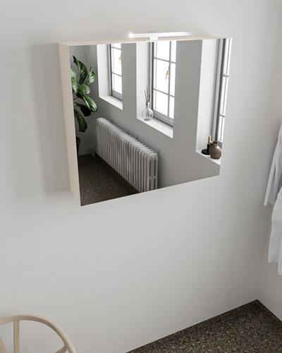 CUBB spiegelkast 80x70x17cm kleur linen met 2 deuren