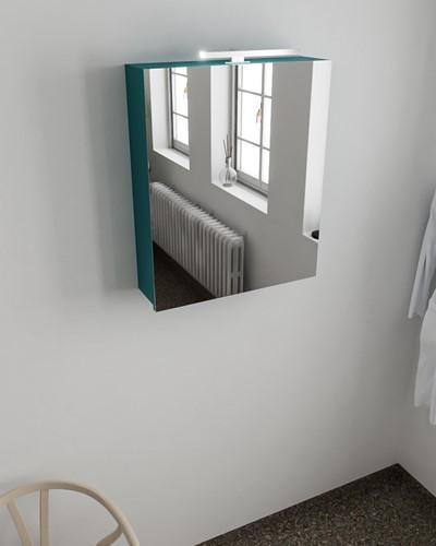 CUBB spiegelkast 60x70x16cm kleur smag met 1 deur