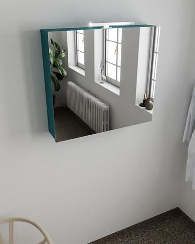 CUBB spiegelkast 80x70x17cm kleur smag met 2 deuren