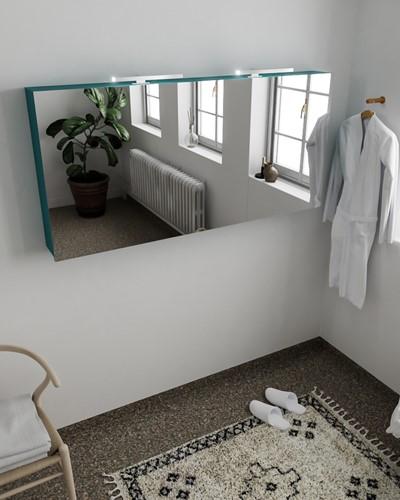 CUBB spiegelkast 150x70x16cm kleur smag met 3 deuren