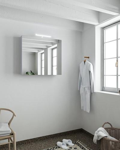 CUBB spiegelkast 60x70x16cm kleur cale met 1 deur