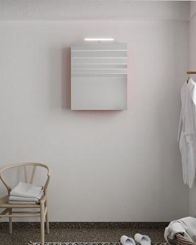 CUBB spiegelkast 60x70x16cm kleur fire met 1 deur