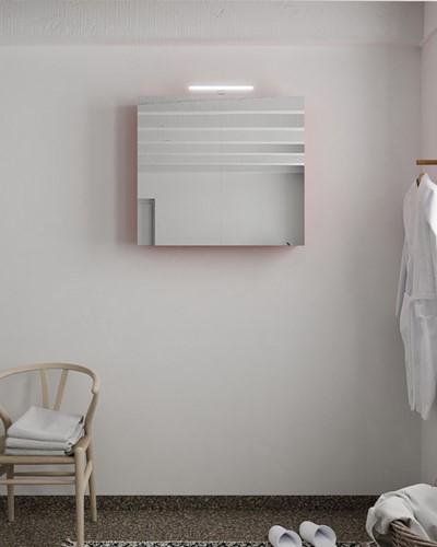 CUBB spiegelkast 80x70x17cm kleur fire met 2 deuren