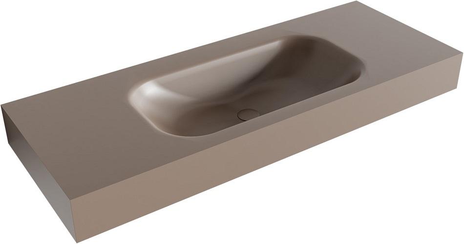 vrijhangende wastafel BIG SMALL passend bij de badkamermeubels van MONDIAZ