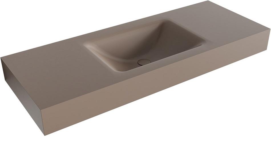vrijhangende wastafel CLOUD passend bij de badkamermeubels van MONDIAZ