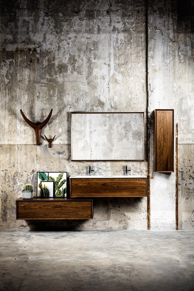 Coff 30 - Massief houten Badmeubel passend bij de badkamermeubels en wastafels van MONDIAZ