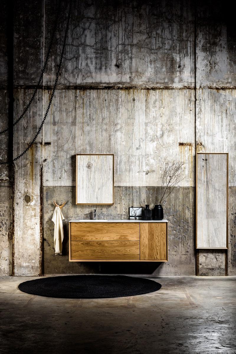 COFF 60 - Massief houten badmeubel passend bij de badkamermeubels en wastafels van MONDIAZ