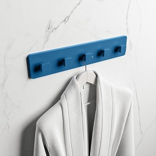 EASY Handdoekhaakjes 45cm solid surface kleur Jeans