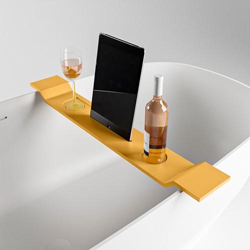 EASY Badplank 86cm solid surface kleur Ocher