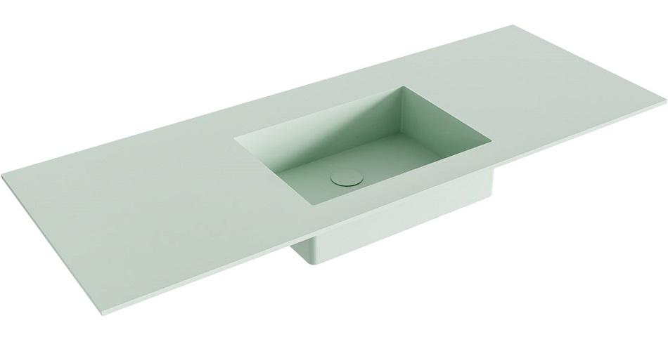 inbouw wastafel EDGE passend bij de badkamermeubels van MONDIAZ