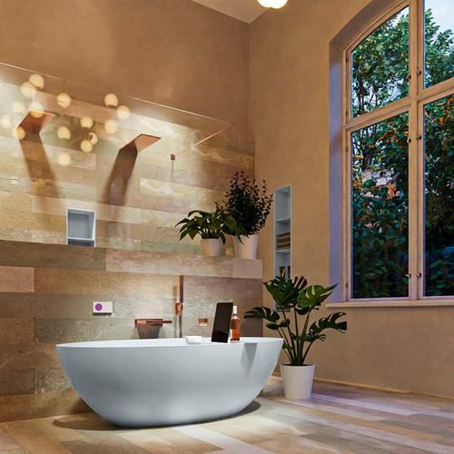 FLOAT vrijstaand bad 170x80cm kleur Clay / Clay