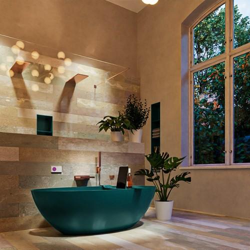 FLOAT vrijstaand bad 170x80cm kleur Smag / Smag
