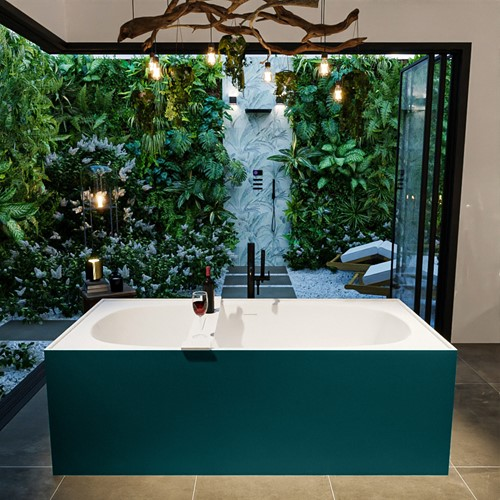 FREEZE vrijstaand bad 180x85cm kleur Smag / Talc