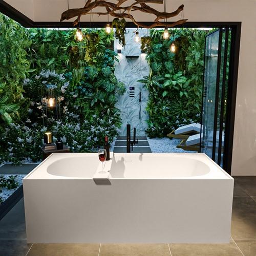 FREEZE vrijstaand bad 180x85cm kleur Linen / Linen
