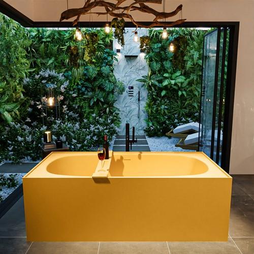 FREEZE vrijstaand bad 180x85cm kleur Ocher / Ocher