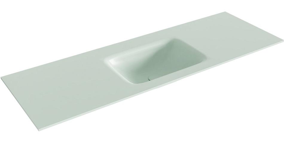 inbouw wastafel GRUNNE passend bij de badkamermeubels van MONDIAZ