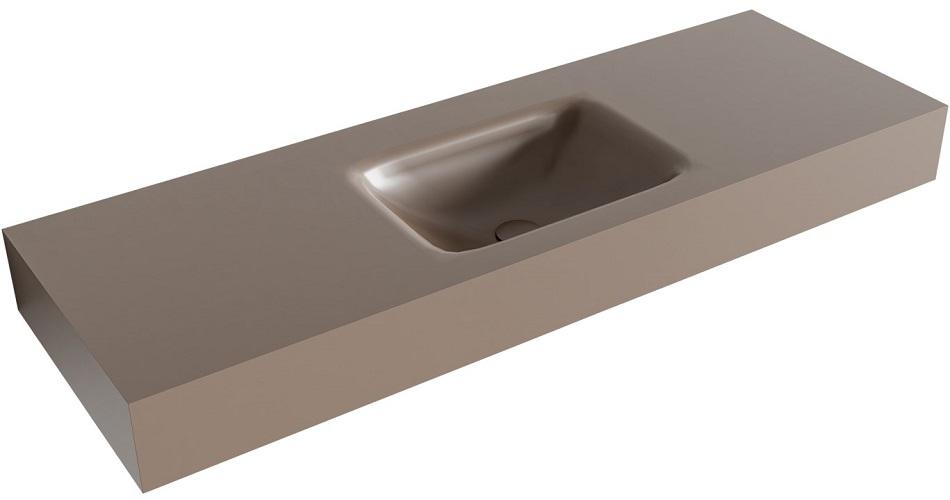 vrijhangende wastafel GRUNNE passend bij de badkamermeubels van MONDIAZ