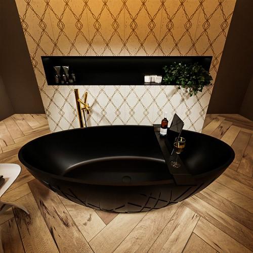 HOLM vrijstaand bad 180x85cm kleur Urban / Urban | voorraad