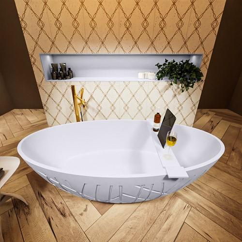 HOLM vrijstaand bad 180x85cm kleur Cale / Cale
