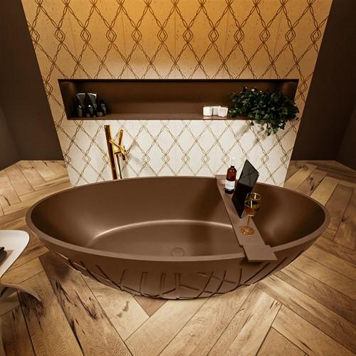 HOLM vrijstaand bad 180x85cm kleur Rust / Rust