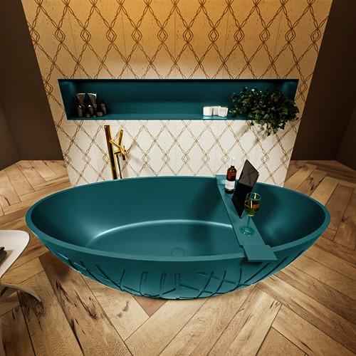 HOLM vrijstaand bad 180x85cm kleur Smag / Smag