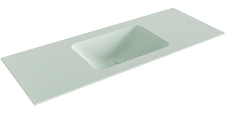 inbouw wastafel LEAF passend bij de badkamermeubels van MONDIAZ