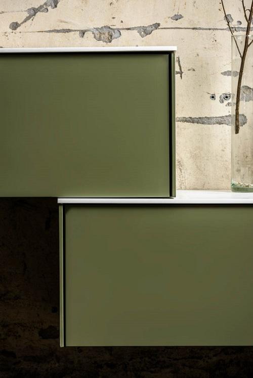 LOOR - Solid Surface badmeubel passend bij de badkamermeubels en wastafels van MONDIAZ
