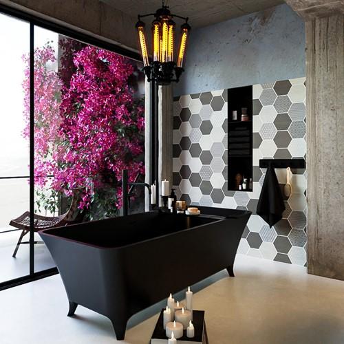 LUNDY vrijstaand bad 170x75cm kleur Urban / Urban | voorraad