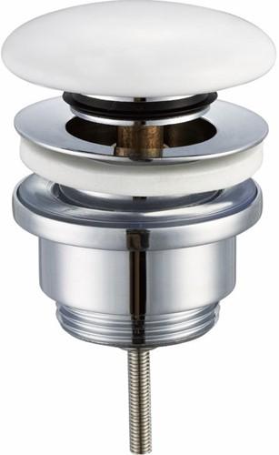 Solid surface afvoer plug