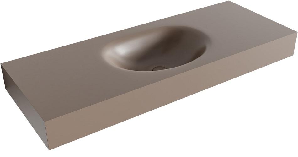 vrijhangende wastafel MOON passend bij de badkamermeubels van MONDIAZ