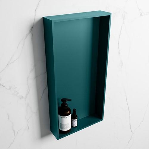 EASY Nis 59,5x29,5cm in solid surface kleur Smag | Smag. 1 vak  geschikt voor in- of opbouw