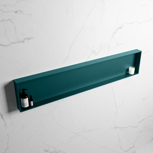 EASY Nis 149,5x29,5cm in solid surface kleur Smag | Smag. 1 vak  geschikt voor in- of opbouw