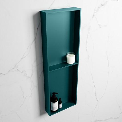 EASY Nis 149,5x29,5cm in solid surface kleur Smag   Smag. 2 vakken geschikt voor in- of opbouw
