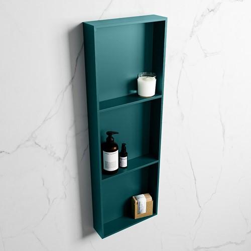 EASY Nis 89,5x29,5cm in solid surface kleur Smag   Smag. 3 vakken  geschikt voor in- of opbouw