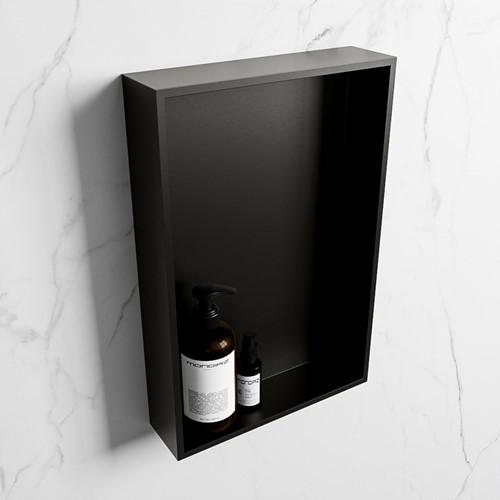 EASY Nis 44,5x29,5cm in solid surface kleur Urban   Urban. 1 vak  geschikt voor in- of opbouw