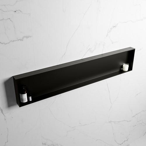 EASY Nis 149,5x29,5cm in solid surface kleur Urban | Urban. 1 vak  geschikt voor in- of opbouw
