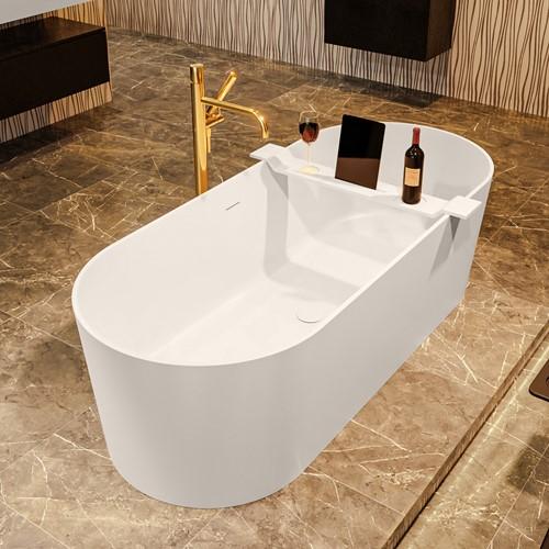 NOBLE vrijstaand bad 180x75cm kleur Linen / Linen