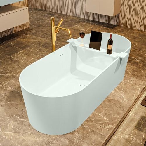 NOBLE vrijstaand bad 180x75cm kleur Greey / Greey