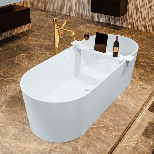 NOBLE vrijstaand bad 180x75cm kleur Clay / Clay