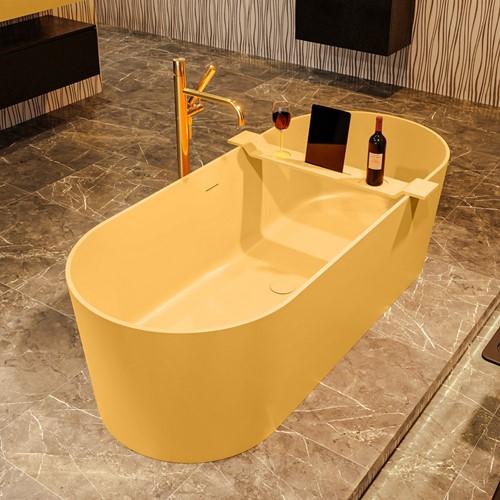 NOBLE vrijstaand bad 180x75cm kleur Ocher / Ocher