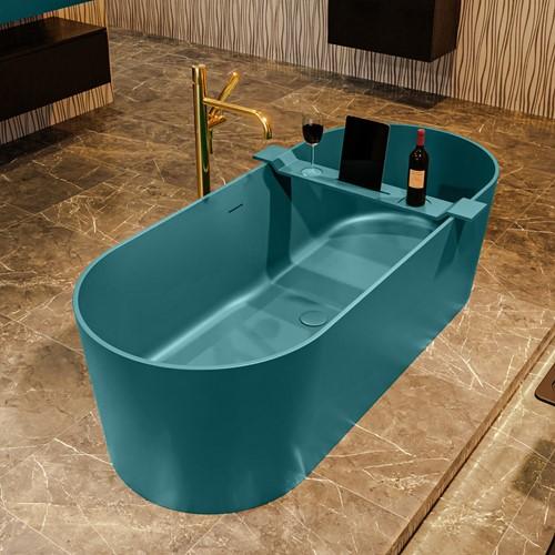 NOBLE vrijstaand bad 180x75cm kleur Smag / Smag