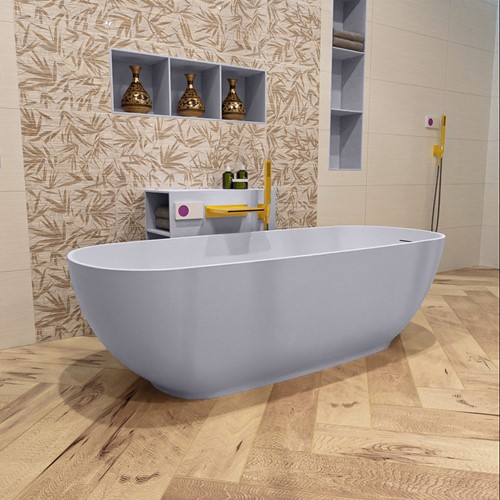 ROCK vrijstaand bad 170x70cm kleur Cale / Cale