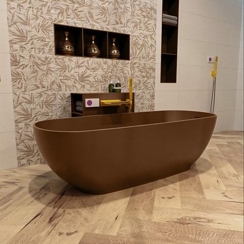 ROCK vrijstaand bad 170x70cm kleur Rust / Rust