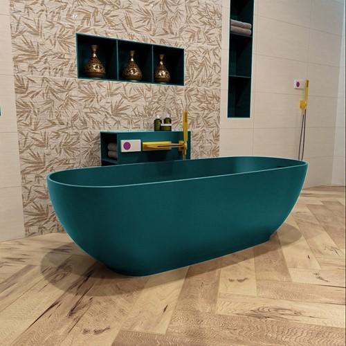ROCK vrijstaand bad 170x70cm kleur Smag / Smag