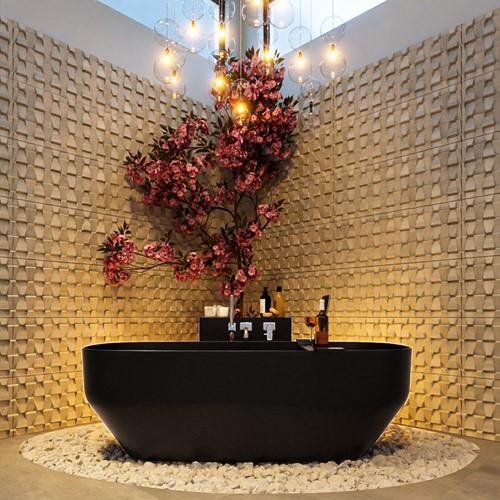 STONE vrijstaand bad 170x75cm kleur Urban / Urban