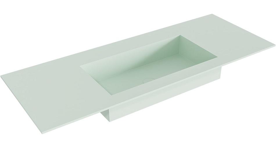 inbouw wastafel ZINK passend bij de badkamermeubels van MONDIAZ