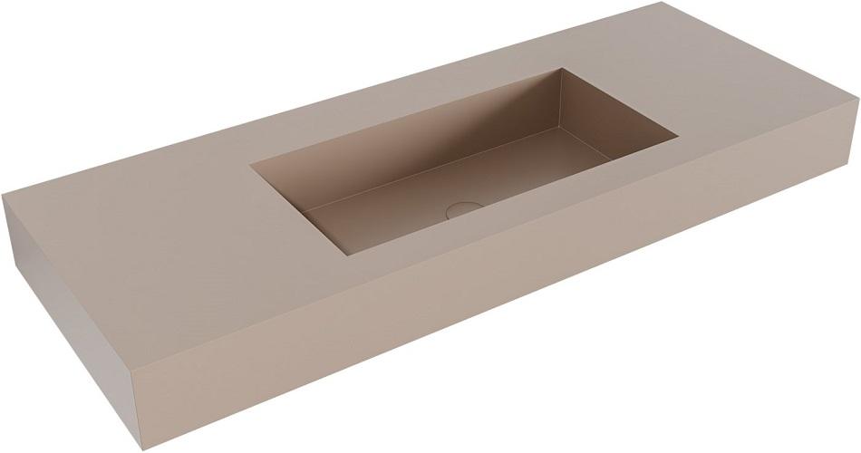 vrijhangende wastafel ZINK passend bij de badkamermeubels van MONDIAZ